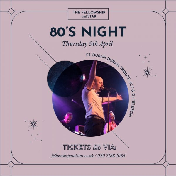 80s night (ft. Tribute Band Duran2)